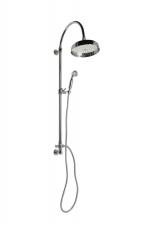 VANITY Zuhanyoszlop, csaptelepre szerelhető, fej- és kézizuhannyal (SET051)