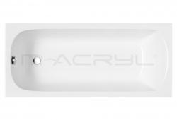 M-Acryl Mira egyenes kád