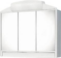 AQUALINE RANO tükrösszekrény, 59x51x16cm, fehér, műanyag