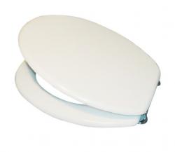 Sanotechnik WC-ülőke, fehér, lakkozott MDF 39300