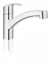 Grohe Eurosmart kihúzható zuhanyfejes mosogató
