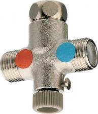 SILFRA Melegvíz keverő visszacsapó szeleppel (AT95051)