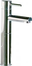 RHAPSODY Magasított mosdó csaptelep leeresztő nélkül, króm (5502L/S)