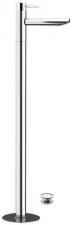 RHAPSODY térbenálló magasított mosdó csaptelep klik-klak lefolyóval, króm (5516)