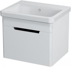 Sapho ELLA mosdótartó szekrény 1 fiókkal, 46,5x39x38,5 cm, fehér