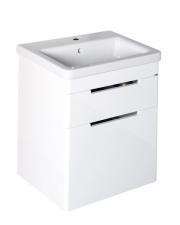 Sapho ELLA mosdótartó szekrény 2 fiókkal, 46,5x65x38,5 cm, fehér (70052)