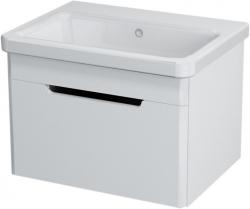 Sapho ELLA mosdótartó szekrény 1 fiókkal, 56,5x39x43 cm, fehér (70060)