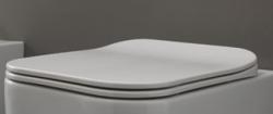 GSGI Brio Slim, lecsapódásmentes, szögletes WC ülőke