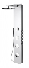 5SIDE ROUND zuhanypanel 250x1550mm, kerek, fehér (80217)