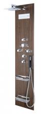 FLAT CUBE zuhanypanel 200x40 cm, wenge (80720-0203)