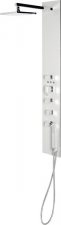 FLAT CUBE zuhanypanel 139x21 cm aluminium (80722-1300