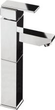 MASTERMAX Mosdó csaptelep automata lefolyóval, magasított, króm (8702L/S)