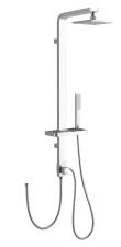 AQUALINE SIGA zuhanyoszlop, magasság 1090 mm, alumínium, (csaptelep nélkül) (SL650)