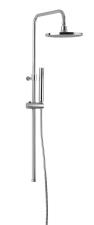 CORNELI Zuhanyoszlop csaptelep nélkül, fej- és kézizuhannyal, CE10S csaptelephez, króm (990ESD)