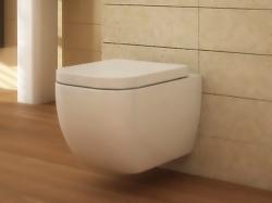 Arezzo OHIO FÜGGESZTETT WC, ülőke nélkül