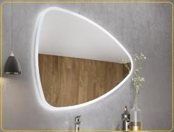Savinidue SOLE tükör LED világítással 100x85 cm