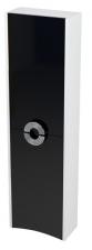 Sapho AVEO álló szekrény 40x140x20cm fehér/fekete