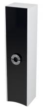 Sapho AVEO álló szekrény 35x140x30cm fehér/fekete