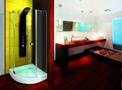 Aquatek Fresh Way S5 90x90 íves zuhanykabin