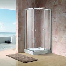 Aquatek Holiday aszimmetrikus zuhanykabin két ajtóval több méretben