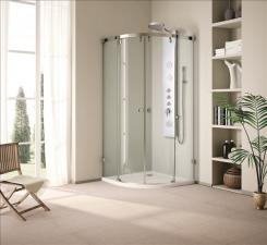 Aquatek Infinity S7 íves tolóajtós zuhanykabin