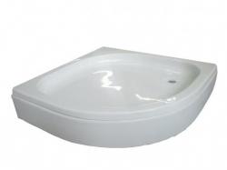 Sanotechnik BORA íves akril zuhanytálca
