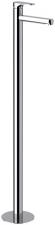 CORNELI térbenálló magasított mosdó csaptelep klik-klak lefolyóval, króm (CE16)