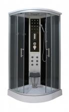 Sanotechnik Comfort 100x100 Quick Line hidromasszázs zuhanykabin