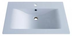 Sanotechnik Öntött márvány mosdó, ráépíthető