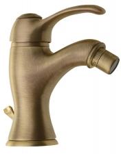 KIRKÉ bidé csaptelep, lefolyóval, bronz (KI03B)
