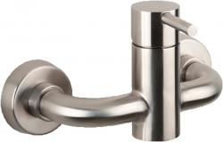 Minimal zuhanycsaptelep zuhanyszett nélkül, inox (MI011)