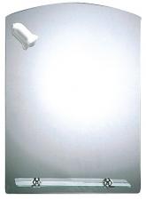 Sanotechnik tükör,íves üvegpolccal