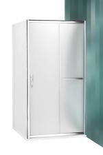Roltechnik PXD2N+PXBN aszimmetrikus zuhanykabin tolóajtós ajtófal és egy fix fallal