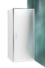 Roltechnik PXDO1N+PXBN zuhanykabin nyíló ajtóval és egy fix fallal