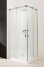 Radaway Espera KDD szögletes aszimmetrikus tolóajtós zuhanykabin
