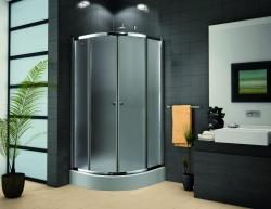 Aquatek Family S4 íves zuhanykabin+SMC Maxi zuhanytálca
