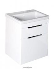 Sapho ELLA mosdótartó szekrény 2 fiókkal, 56,5x65x43 cm, fehér (70062)