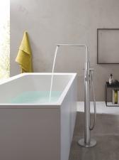 Grohe Lineare egykaros kádtöltő- és zuhanycsap szabadon álló kádhoz