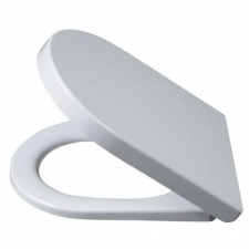 Alföldi Liner WC-ülőke 9M23 S1 01 Duroplast antibakteriális vastag műanyag Soft Closing lecsapódás gátlóval Fém zsanérral