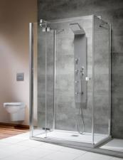 Radaway Almatea KDJ+S falsíkra szerelhető zuhanykabin