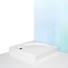 ALOHA-P szögletes zuhanytálca