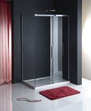 Polysan Altis Line eltolható zuhanyajtó + fix oldalfal
