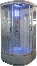 Aqualife Brill 8810A fehér üveghátfalas hidrokabin