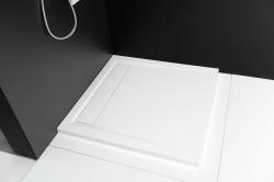 Arena szögletes öntött márvány zuhanytálca
