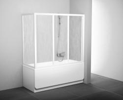 Ravak AVDP3 zuhanyajtó + 2 fix oldalfal