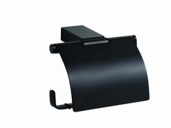 Bemeta Nero fedeles wc papírtartó, fekete 135012010