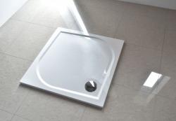 Aquatek Bent öntött márvány szögletes 90x90 zuhanytálca
