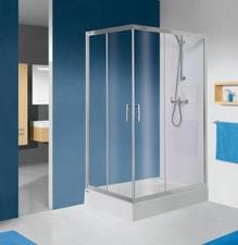 KN/TX5b aszimmetrikus zuhanykabin (tolóajtós)