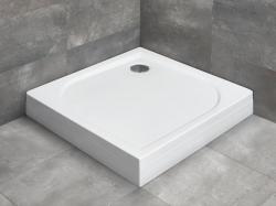 Radaway Delos C szögletes akril zuhanytálca lábbal