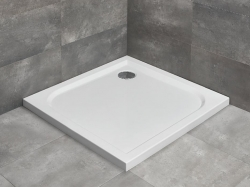 Radaway Delos C szögletes akril zuhanytálca